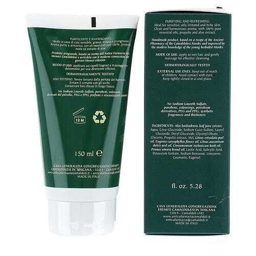 Camaldoli natural Propolis Shampoo 150 ml 4