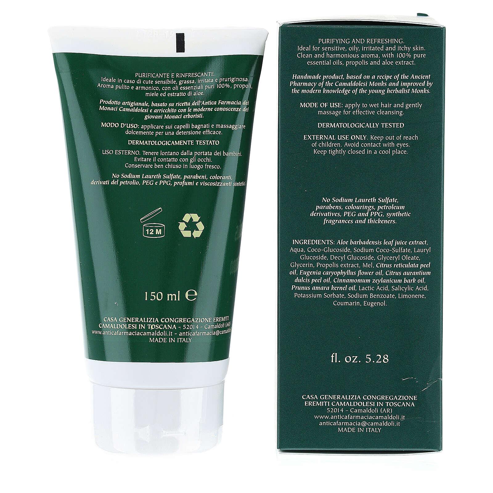 Shampoo Propoli Naturale 150 ml Camaldoli 4