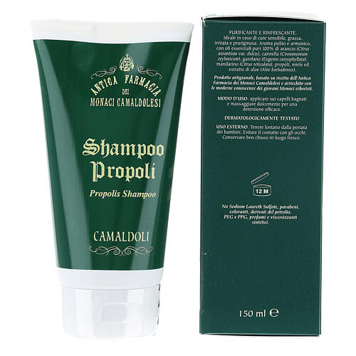 Shampoo Propoli Naturale 150 ml Camaldoli 3