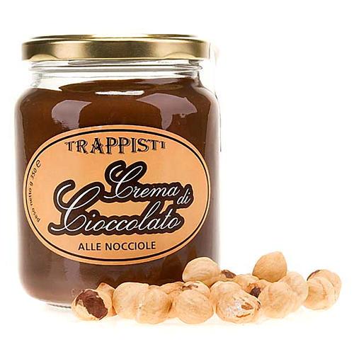 Crema de chocolate con avellanas 350 gr. Trapense 1
