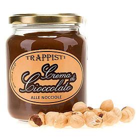 Crema Cioccolato alle Nocciole 350 g Trappisti Frattocchie s1