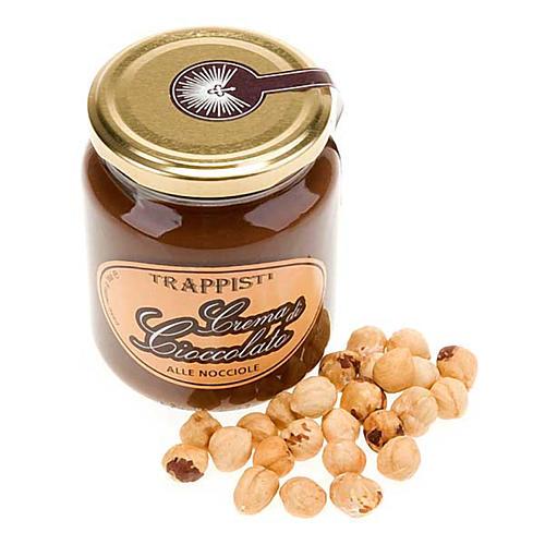 Krem czekoladowy z orzechami laskowymi 350g Trapiści Frattocchie 2