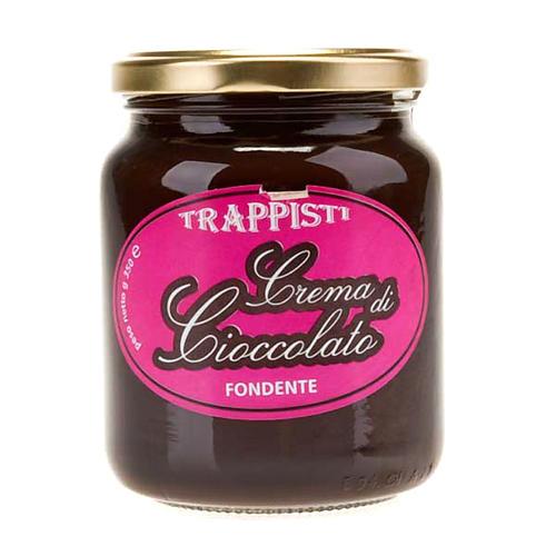 Crème de chocolat noire extra 350 gr Trappisti Frattocchie 1