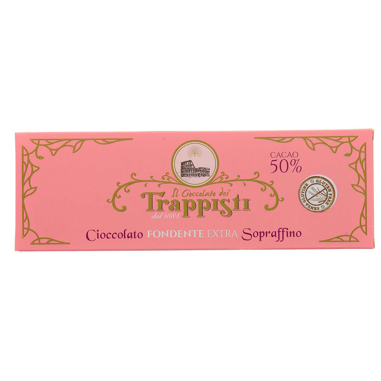 Extra dark chocolate 150gr Frattocchie Trappist monastery 3
