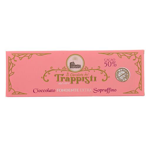 Extra dark chocolate 150gr Frattocchie Trappist monastery 1