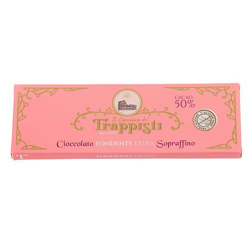 Extra dark chocolate 150gr Frattocchie Trappist monastery 2