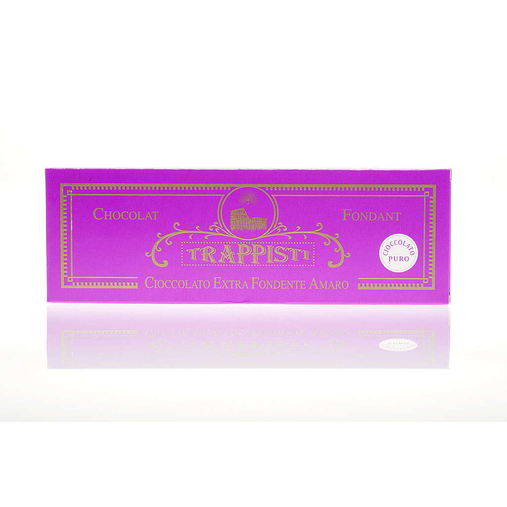 Chocolat noire extra amère 150 gr Trappisti Frattocchie 3