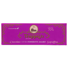 Chocolat noire extra amère 150 gr Trappisti Frattocchie s1
