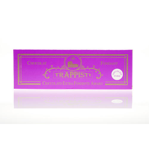 Cioccolato fondente extra amaro 150 g Trappisti Frattocchie 2