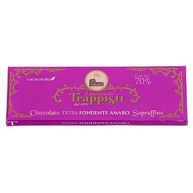 Chocolate preto extra amargo 150 g Monges trapistas Frattocchie s2
