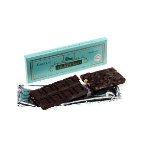 Chocolate amargo con avellanas 150 gr. Trapense s1