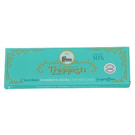 Chocolate amargo con avellanas 150 gr. Trapense s2