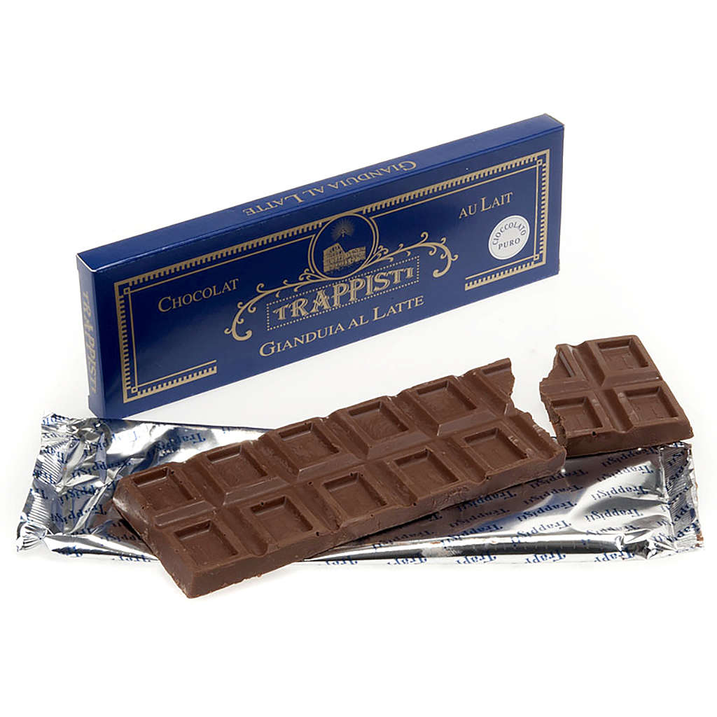 Soft nut chocolate 150gr- Frattocchie Trappist monastery 3