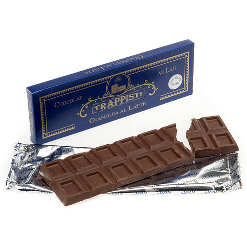 Soft nut chocolate 150gr- Frattocchie Trappist monastery 1