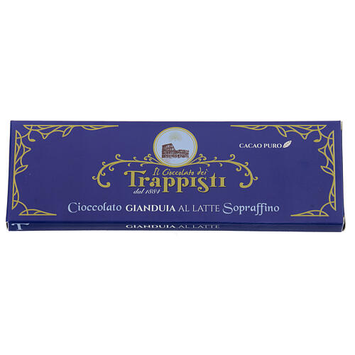 Soft nut chocolate 150gr- Frattocchie Trappist monastery 2