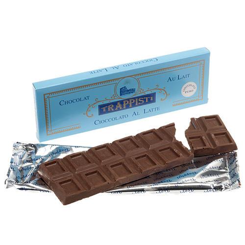 Chocolate con leche confección 150 gr. Trapense 1