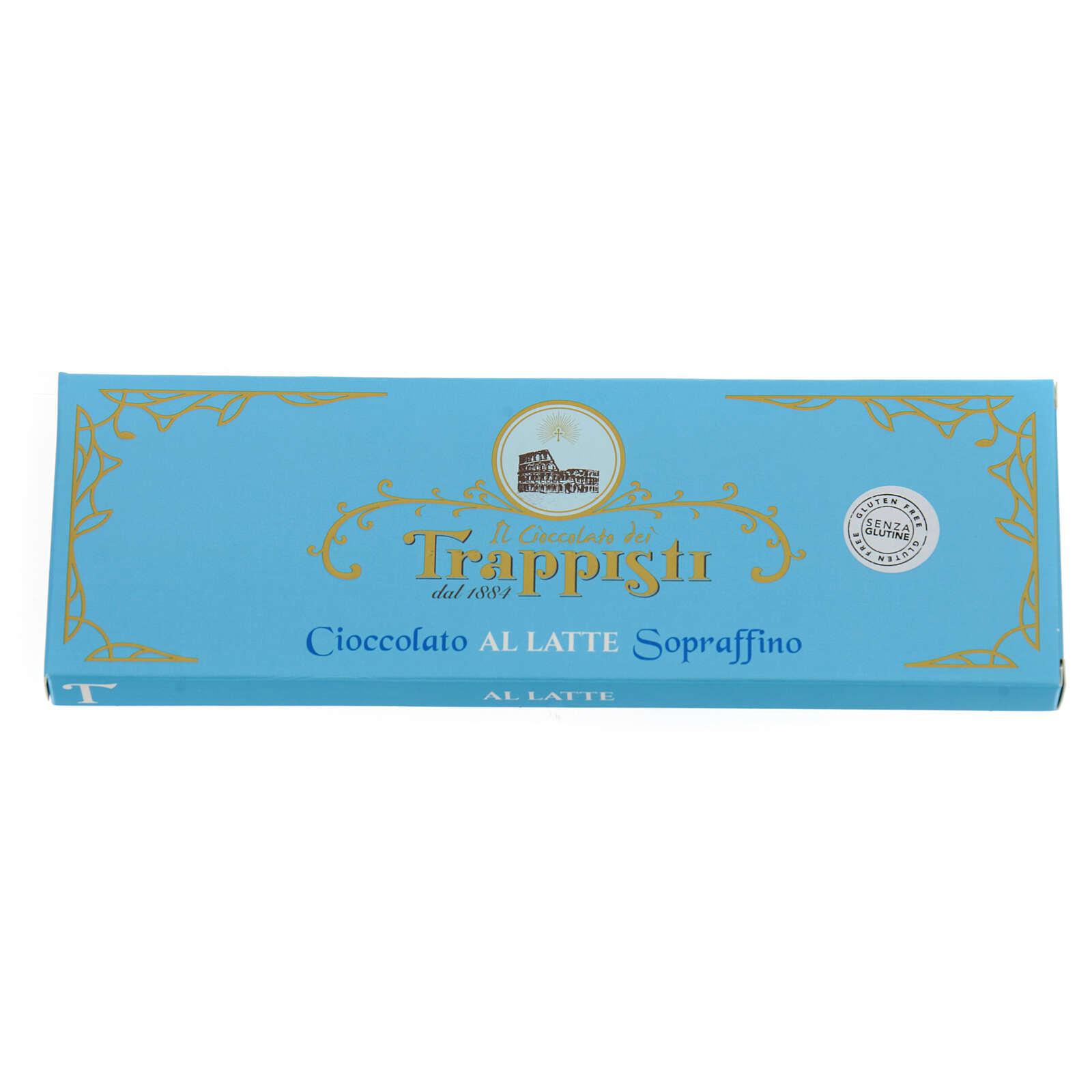 Cioccolato latte 150 g Trappisti Frattocchie 3