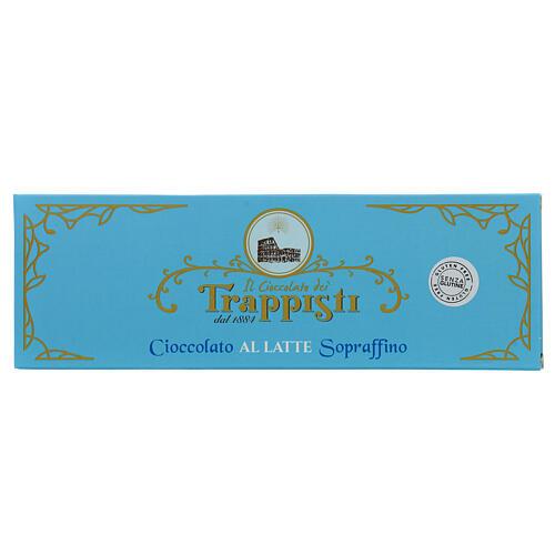 Cioccolato latte 150 g Trappisti Frattocchie 1