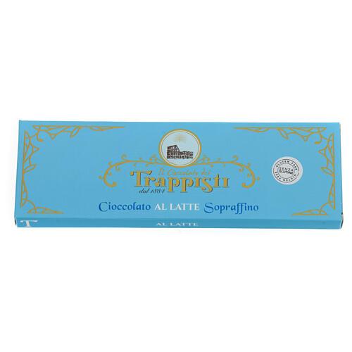 Cioccolato latte 150 g Trappisti Frattocchie 2