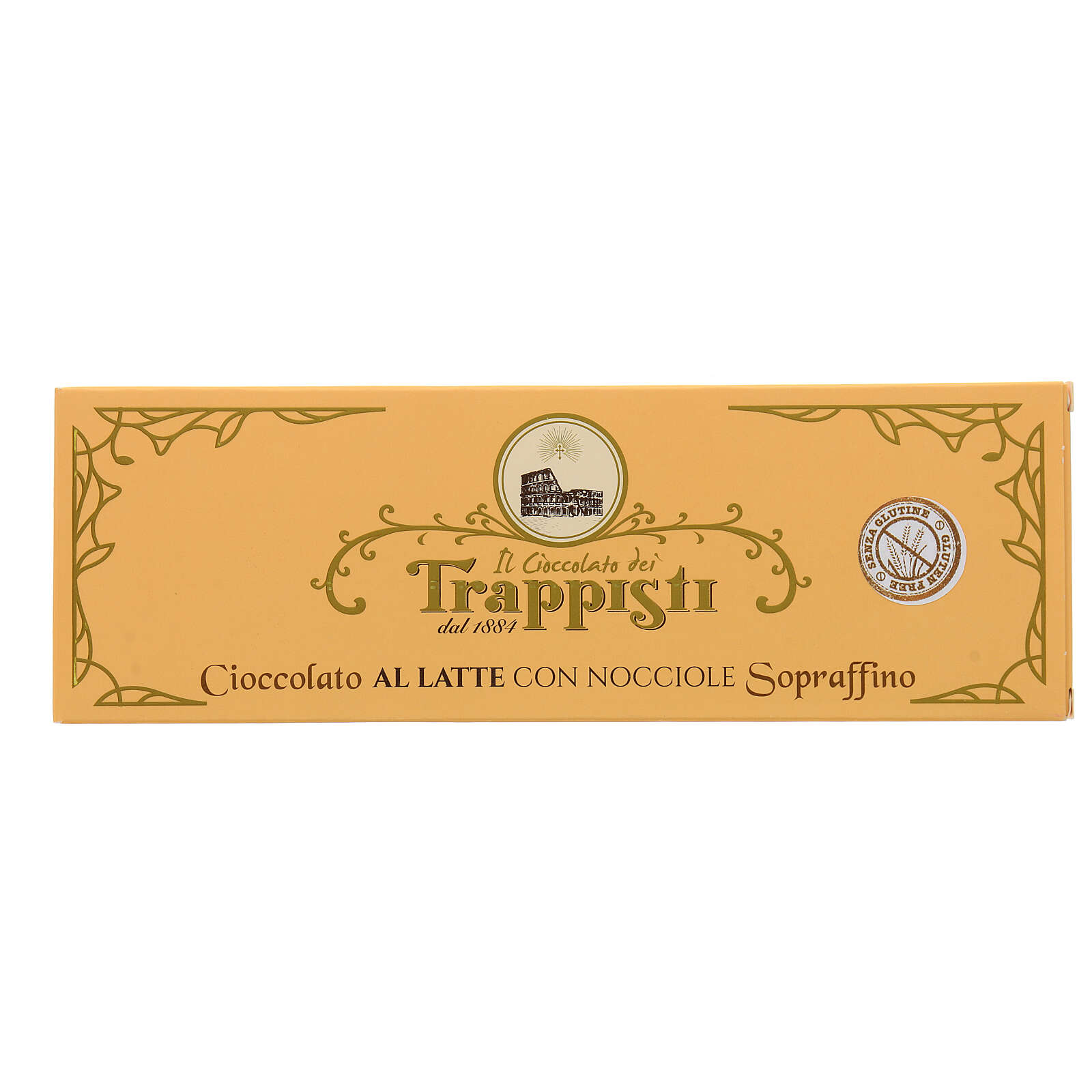 Milk Chocolate with nuts 150gr Frattocchie trappist monastery 3