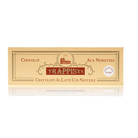 Milk Chocolate with nuts 150gr Frattocchie trappist monastery s2