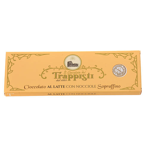 Milk Chocolate with nuts 150gr Frattocchie trappist monastery 2