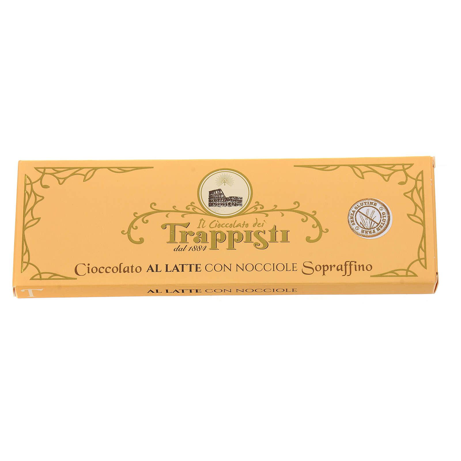 Chocolat au lait et noisettes, 150 gr Trappisti Frattocchie 3