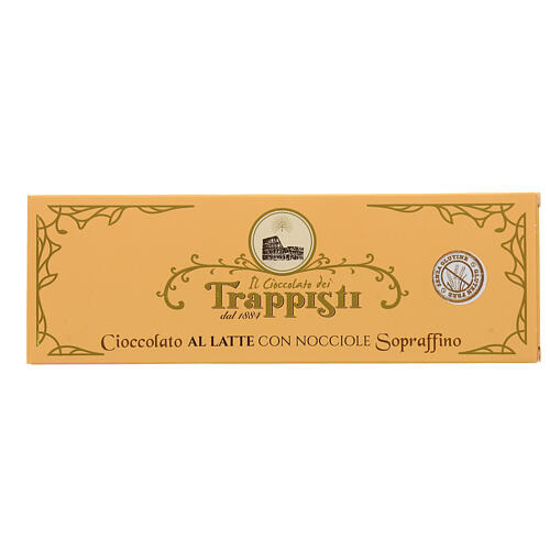 Milk Chocolate with nuts 150gr Frattocchie trappist monastery 1