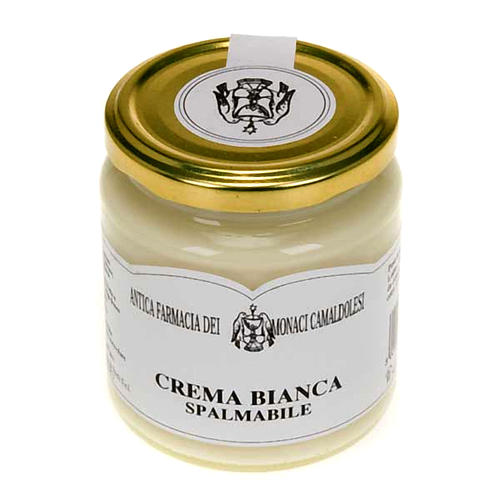 Crema de chocolate blanco 300 gr. Camaldulense 1