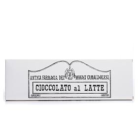 Chocolate trapense: Chocolate con leche 250 gramos Camaldoli