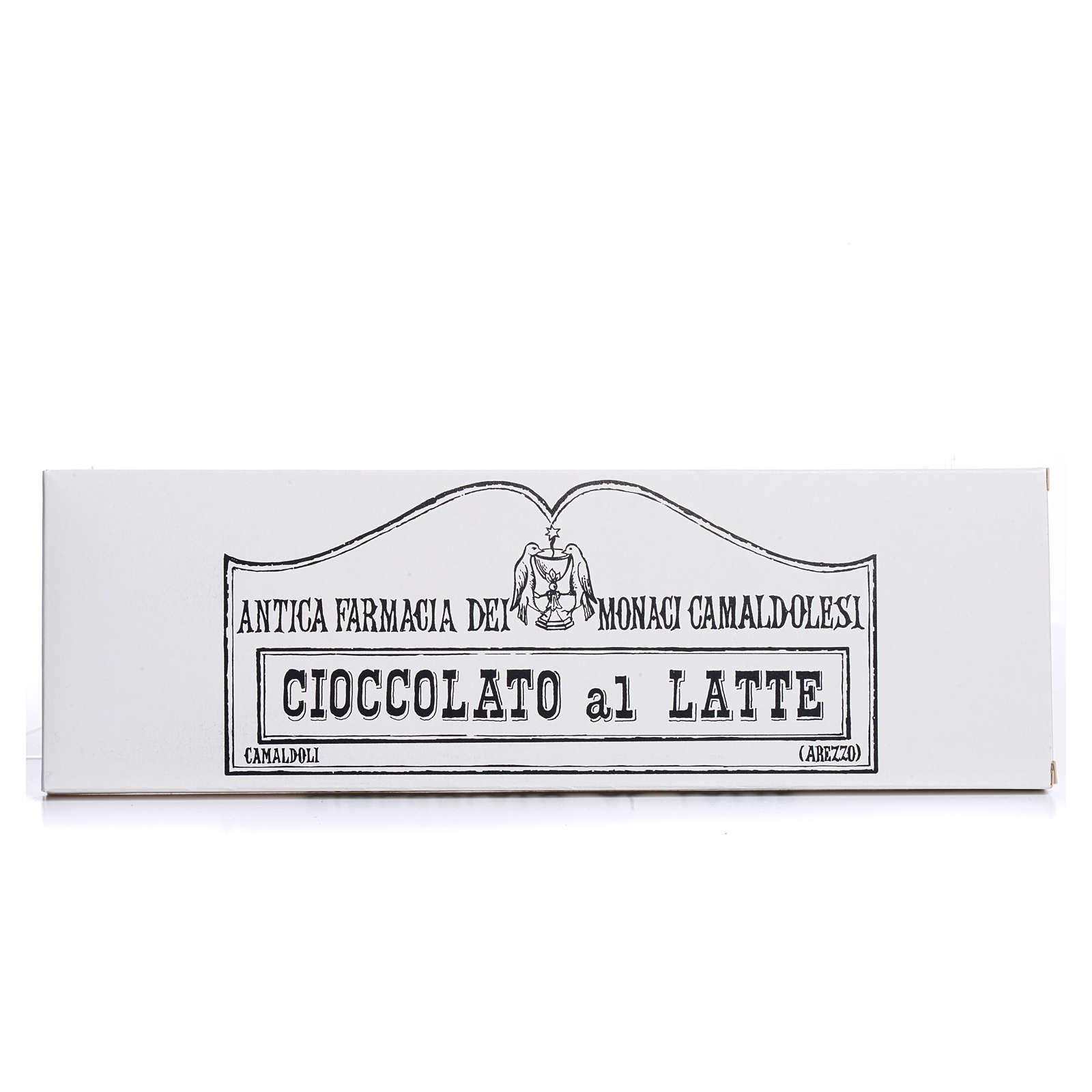 Cioccolato al latte 250 gr Camaldoli 3
