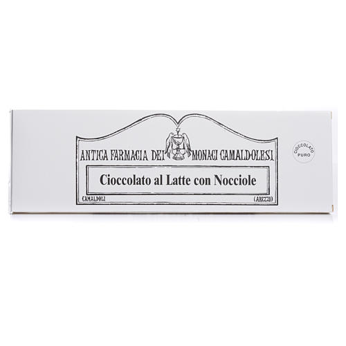 Milk chocolate with nuts 150gr Camaldoli 1