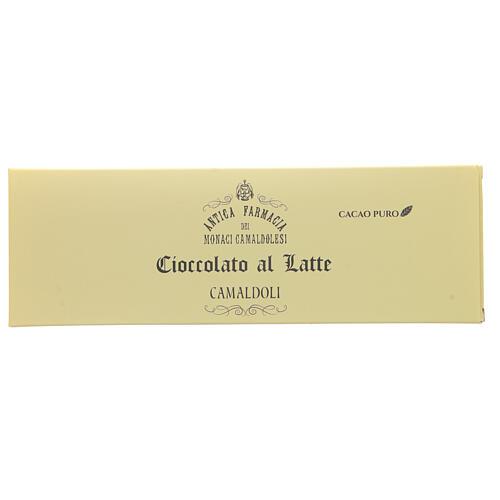 Cioccolato al latte 150 gr Camaldoli 1