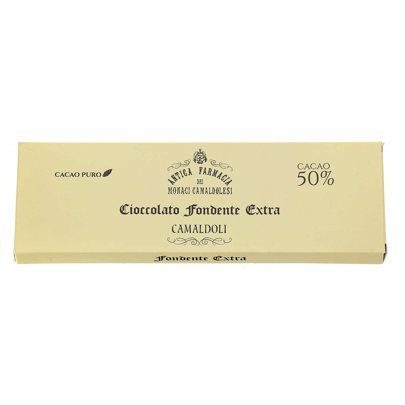 Cioccolato fondente 150 gr Camaldoli 3