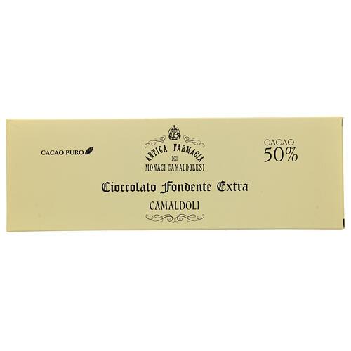 Cioccolato fondente 150 gr Camaldoli 1