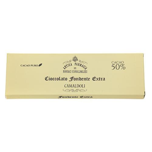 Cioccolato fondente 150 gr Camaldoli 2