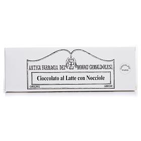 Chocolat au lait et noisettes 150g Camaldoli s1