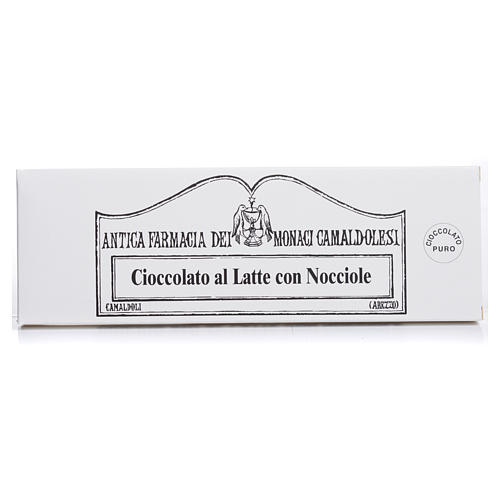 Chocolate de leite com avelãs 150 g Camaldoli 1