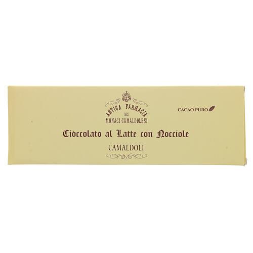 Milk chocolate with nuts 150gr Camaldoli 1