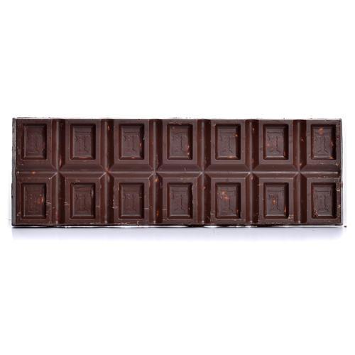 Cioccolato fondente extra nocciole150 gr Camaldoli 2