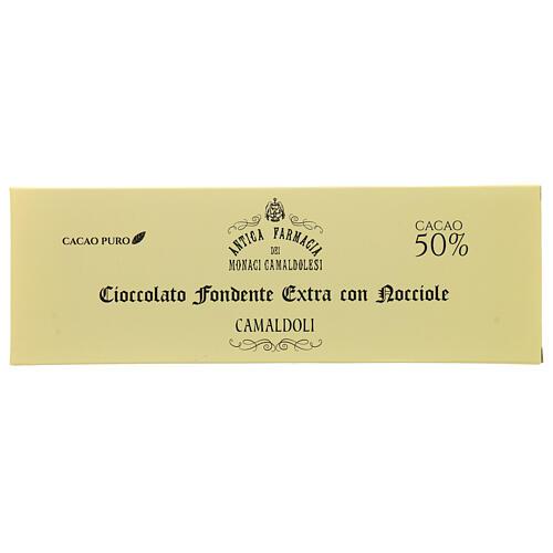 Extra dark chocolate with nuts 150gr Camaldoli 1