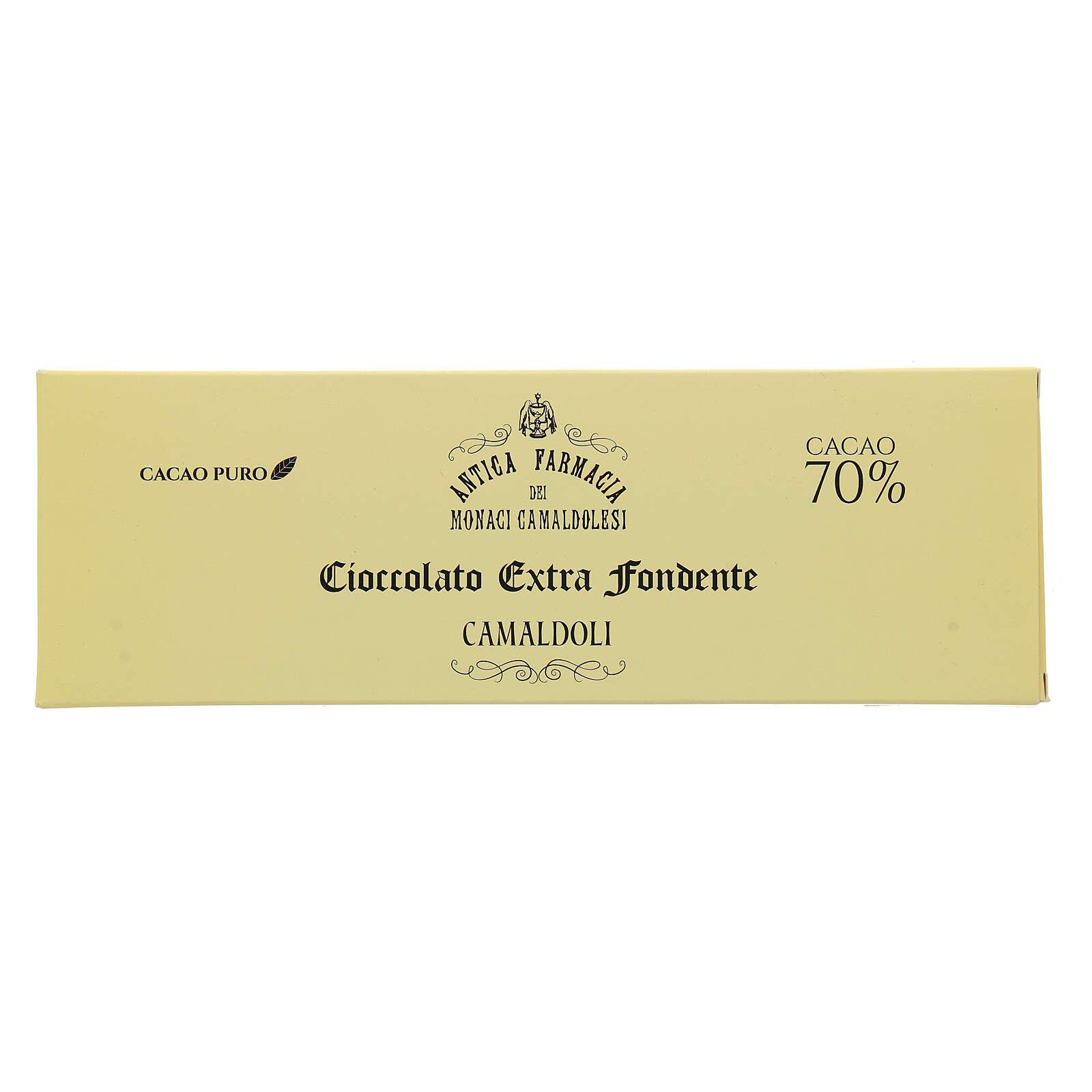 Chocolate amargo extra 70% 150 gr Camaldoli 3