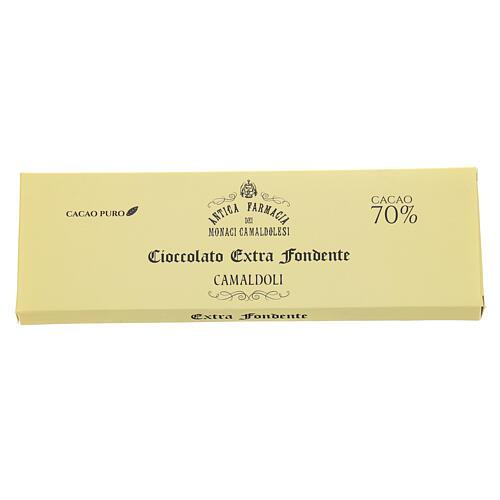 Chocolate amargo extra 70% 150 gr Camaldoli 2