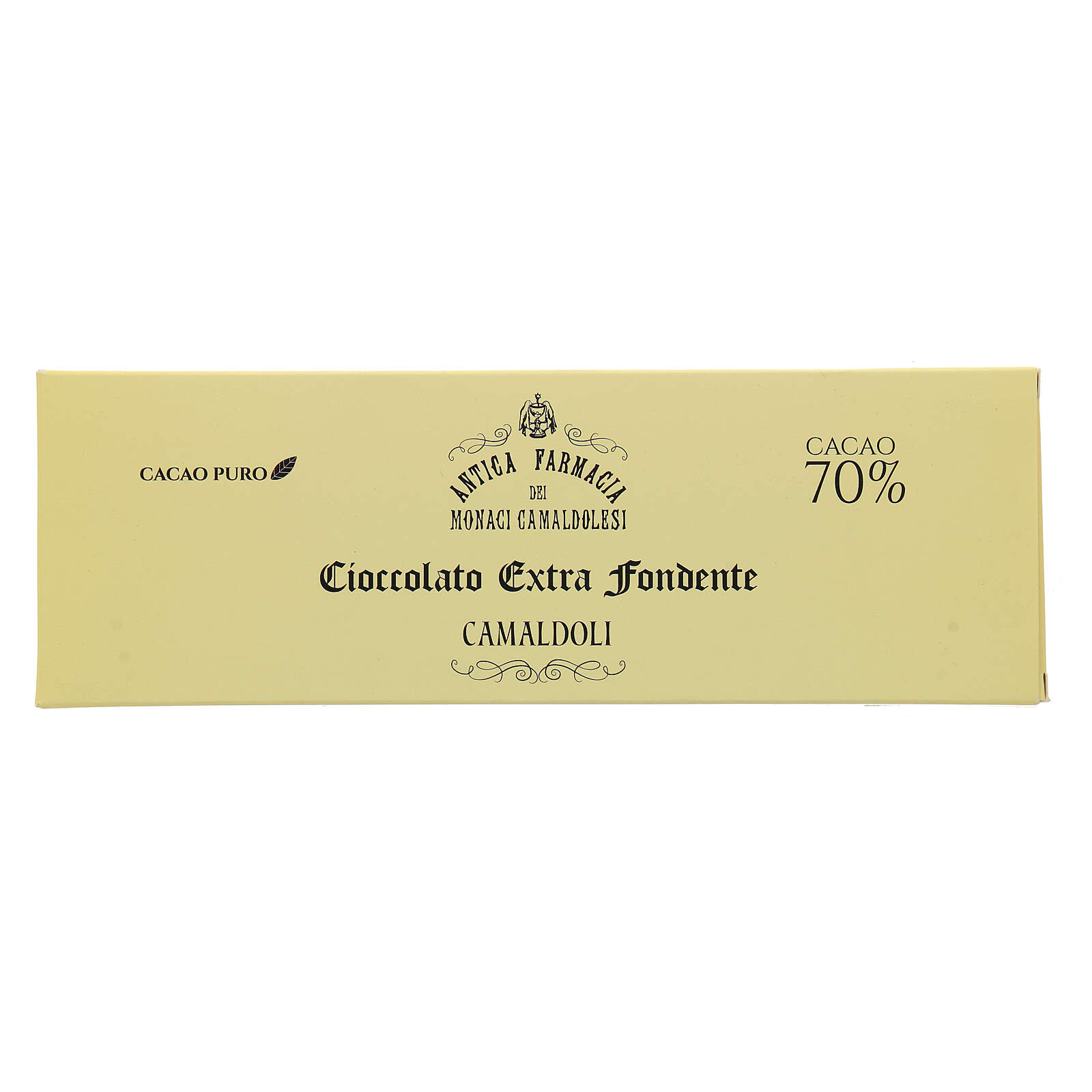 Extra fondente 70% gr 150 Camaldoli 3