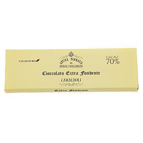 Extra fondente 70% gr 150 Camaldoli s2
