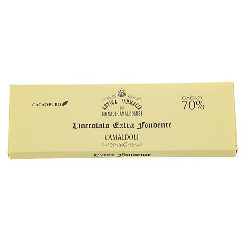 Extra fondente 70% gr 150 Camaldoli 2