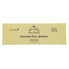 Chocolate preto extra 70% 150 g Camaldoli s1