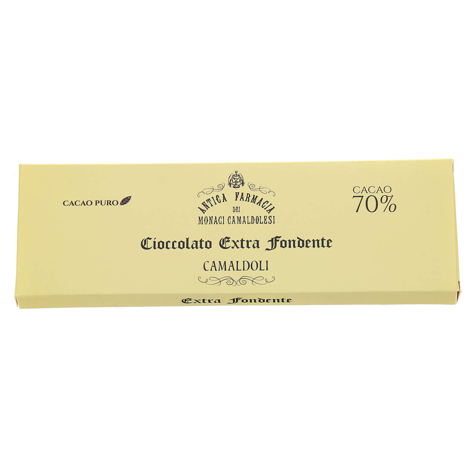 Extra dark chocolate 70% 150gr Camaldoli 3