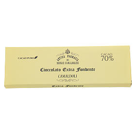 Extra dark chocolate 70% 150gr Camaldoli s2