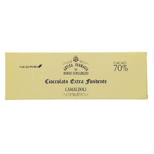 Extra dark chocolate 70% 150gr Camaldoli 1